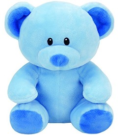 Baby Ty LULLABY kék maci plüss 24cm