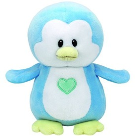 Baby Ty TWINKLES kék pingvin plüss 24cm