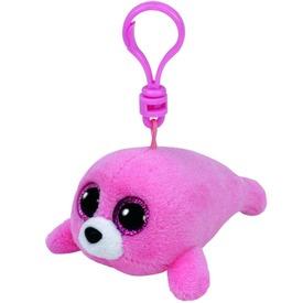 Beanie Boos Clip PIERRE rózsaszín fóka 8, 5 cm