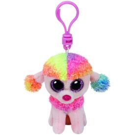 Beanie Boos Clip RAINBOW színes pudli 8, 5 cm