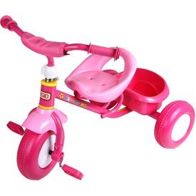 Fémvázas tricikli - rózsaszín