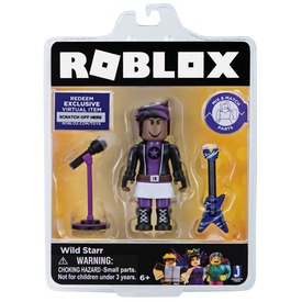 Roblox celebrity figura wild starr