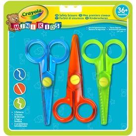 Crayola Mini Kids olló 3 darabos készlet Itt egy ajánlat található, a bővebben gombra kattintva, további információkat talál a termékről.