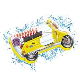 Matrac Jumbo Motorbicikli 183x113cm