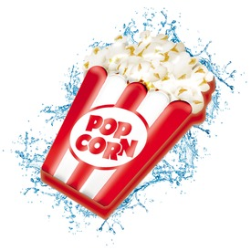 Popcorn matrac - 151 x 138 cm