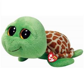 Beanie Boos ZIPPY zöld teknős plüss 15 cm