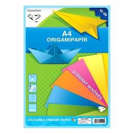 Origami papír 10 darabos készlet - A4