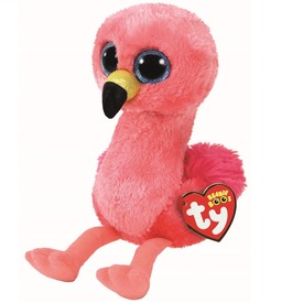 Beanie Boos GILDA rózsaszín flamingó plüss 24 cm