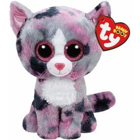 Beanie Boos LINDI rózsaszín macska plüss 24 cm