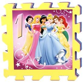 Disney hercegnők szivacs ugróiskola szőnyeg 8 db