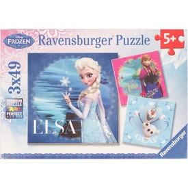 Jégvarázs 3 x 49 darabos puzzle Itt egy ajánlat található, a bővebben gombra kattintva, további információkat talál a termékről.