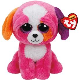 Beanie Boos PRECIOUS rózsaszín kutya plüss 24 cm