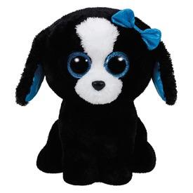 Beanie Boos TRACEY fekete /fehér kutya 24 cm