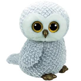 Owlette bagoly plüssfigura - fehér, 42 cm