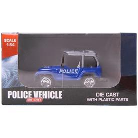 Fém rendőrségi jármű, 1:64, 6 féle