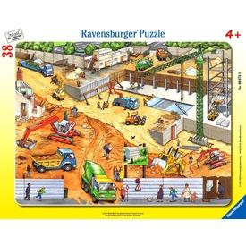 Építkezés 38 darabos puzzle