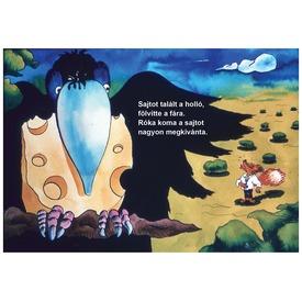 A holló és a róka diafilm 34101120