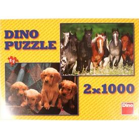Kutyák és lovak 2 x 1000 darabos puzzle Itt egy ajánlat található, a bővebben gombra kattintva, további információkat talál a termékről.