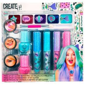 Create it! Sellő smink készlet 7 db-os
