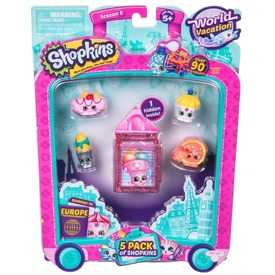 SHOPKINS S8 5db-os szett