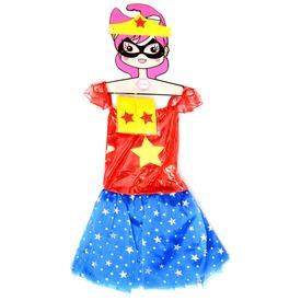 Jelmez - csillagos szuperhős lány
