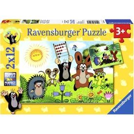 Kisvakond 2 x 12 darabos puzzle