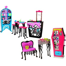 Monster High: Menő helyek bútorkészlet kiegészítőkkel - többféle Itt egy ajánlat található, a bővebben gombra kattintva, további információkat talál a termékről.