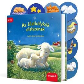 Az állatkölykök elalszanak ismeretterjesztő könyv