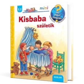 Kisbaba születik ablakos könyv