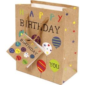 Happy Birthday ajándéktáska - 11 x 14 cm