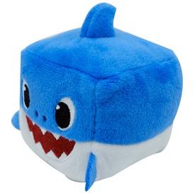 Apa cápa, Baby Shark zenélő kockaplüss 6, 5cm