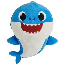 Apa cápa, Baby Shark zenélő plüss 28cm
