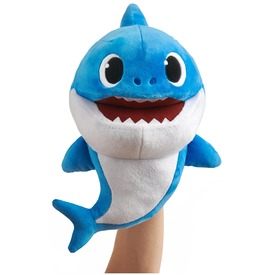 Apa cápa, Baby Shark ütemre zenélő plüss 25cm