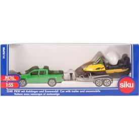 SIKU Volkswagen terepjáró szánnal 1:55 - 2548
