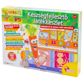 Készségfejlesztő játékok Carotinával 10 in