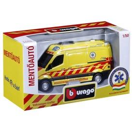 Bburago Volkswagen Crafter magyar mentőautó 1:50