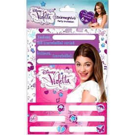 Zsúrmeghívó, matricás Violetta Itt egy ajánlat található, a bővebben gombra kattintva, további információkat talál a termékről.
