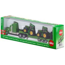 SIKU Kamion John Deere traktorokkal 1:87 - 1837