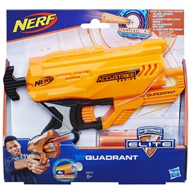 NERF Accustrike Quadrant szivacslövő pisztoly
