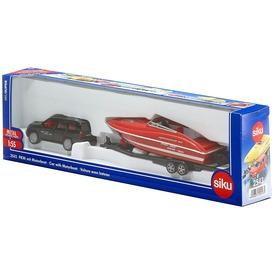 Siku: Audi Q7 autó motorcsónakkal 1:55 - többféle Itt egy ajánlat található, a bővebben gombra kattintva, további információkat talál a termékről.