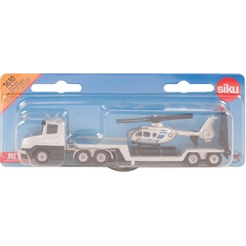 SIKU Vontató kamion és helikopter 1:55 - 1610
