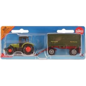 Siku: Claas traktor utánfutóval 1:87 Itt egy ajánlat található, a bővebben gombra kattintva, további információkat talál a termékről.
