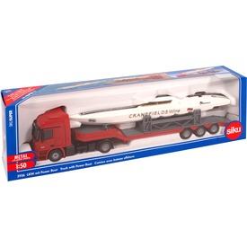 Siku: Mercedes-Benz kamion motorcsónakkal 1:50 Itt egy ajánlat található, a bővebben gombra kattintva, további információkat talál a termékről.