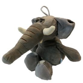 Elefánt ülő plüssfigura - 25 cm, többféle