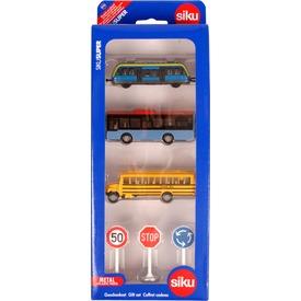 Siku: városi közlekedés készlet 1:87