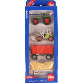 SIKU Mezőgazdasági munkagép készlet 1:87 - 6304