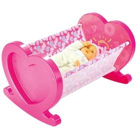 Bölcső játékbabához - 50 cm Itt egy ajánlat található, a bővebben gombra kattintva, további információkat talál a termékről.