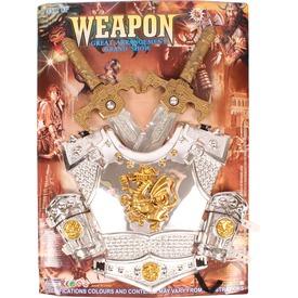 Páncél kardokkal lovagi fegyverkészlet Itt egy ajánlat található, a bővebben gombra kattintva, további információkat talál a termékről.