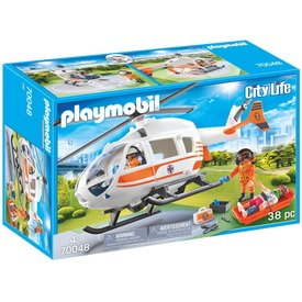 Playmobil Mentőhelikopter 70048