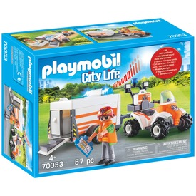 Playmobil Mentőquad pótkocsival 70053
